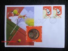 "Netherlands ""DUTCH LAWN TENNIS FEDERATION ~ KNLTB"" ECU Letter Coin Cover 1999"