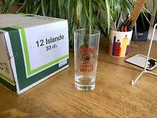 More details for box of 12 luminarc islande gordons dry gin slim jim tumbler glasses.