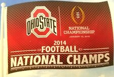 Ohio State Buckeyes FLAG 2014 Championship 3' x 5' Great for Sports Room
