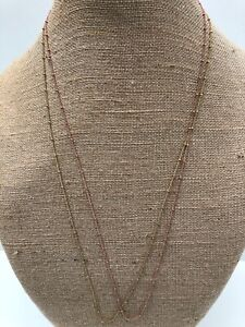 """Origami Owl 28-30"""" Ball Station Chain Necklace - NEW & Authentic"""
