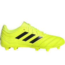 adidas Performance Mens Copa 19.3 Firm Ground Football Training Boots - Yellow