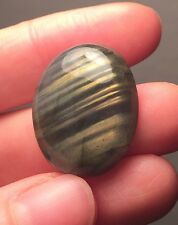 Streaked Gold And Blue Labradorite cab cabochon