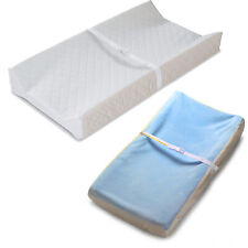 Summer Contoured Changing Pad with Cover, Diaper Changing Table Pad, 16*32+6In