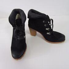New UGG Australia Black Calynda 1002166 High Heel Boot Size 8