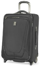"Travelpro Luggage Crew 11 22"" Expandable Rollaboard Carry On - Black"