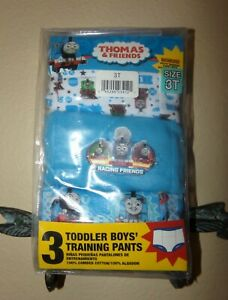 Thomas & Friends Toddler Boys 3 Pack Potty Training Pants-3T