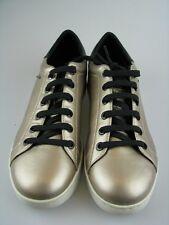 Geox Damen Sneakers D JAYSEN A Champagne Leder in Gr.37