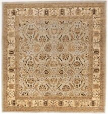 """Hand knotted Pakistan rug. 6'11""""x 6' 6"""""""