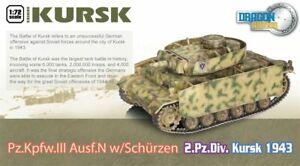 Dragon Armour 1/72 Panzer III Ausf.N w/Schurzen  2.Pz.Div. Kursk 1943 60614