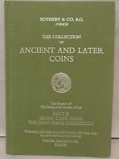 Sotheby The Collection Of ANcient and Later Coins Part 2 Greek Coins John Ward