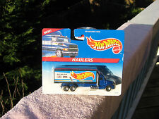 Hot Wheels Haulers Team Racing Semi & Trailer 1996~ New & Factory Sealed!