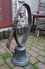 26 cm Durchmesser Erntedankfest Kuhglocke Messingglocke Glocke Schiffsglocke