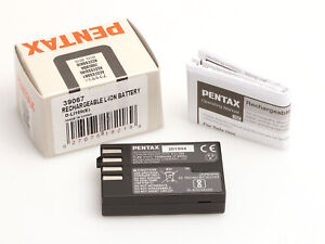 Original Pentax Battery D-Li109 #39067 Akku für Pentax K-r, K-30, K-50, K70, K-5
