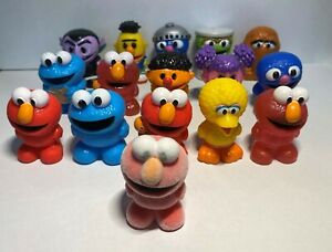 Updated! - Sesame Street Jnr Ooshies Genuine New/Open - Choose your Ooshie!