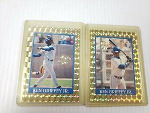 1992 Playball USA Promotional Ken Griffey Jr HOF Gold Set of 2