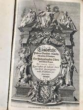 Buch Frühbarock Bayerisches Landrecht Kurfürst Maximilian I.Bayern Henricus 1616