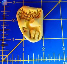 Deer c23 -Silicone Mold-Candy Cookie Crafts Cake Pop Cupcake topper Clay