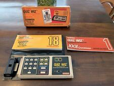 Vintage Coleco 1979 Quiz Wiz Electronic Computer Question Answer Game SUPER RARE