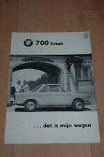 BMW 700 Coupé - Brochure folder catalogus