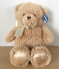 """NEW Gund My First Teddy Bear Brown Stuffed Animal 10.5"""" Baby Shower Gift Ages 0+"""