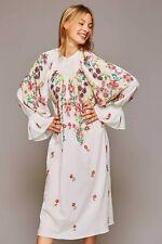 Antik Batik anthropologie William Dress sequin Boho bnwt rrp £500