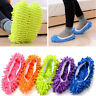 2Pcs Mop Slippers Lazy Floor Foot Socks Shoes Quick Polishing Cleaning Dust New