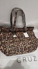 CARPISA Handbag from Penelope Monica CRUZ BNWT Animal Print Beige Multicolour