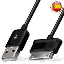 Cable de Carga y Datos USB Negro para Samsung Galaxy Tab 2 10.1 P5100 Cargador