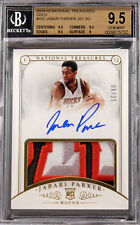 2014-15 Jabari Parker National Treasures RC Rookie Patch Auto /25 BGS 9.5 / 10