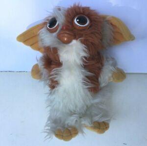 "1984 Warner Bros Hasbro Softies Gremlins 10"" Plush Stuffed Doll Squeaks Vintage"