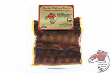 Wild Alaska Smoked Salmon Strips Retort (Shelf-stable) Pouches 4 oz Salmon Candy
