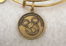 Alex and Ani Walt Disney World Vacation Club DVC Bracelet (Gold). *NEW* *NWT*