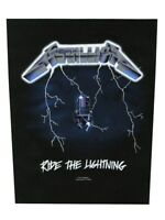 Metallica Back Patch Ride The Lightning Black 29 x 36cm