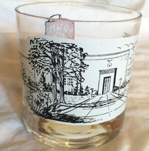 VTG Boumi Temple Glass RARE SHRINERS Masons BALTIMORE MARYLAND Masonic Temple