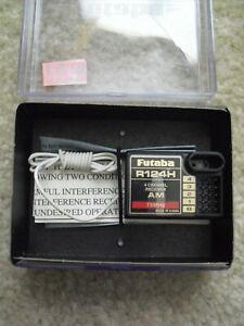 RC Airplane Part Accessory Futaba R124H 4 Channel Receiver AM 75 MHz NIB