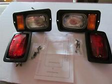 CLUB CAR DS Golf Cart HEAD LIGHT TAIL LIGHT Front & Rear KIT With Templet  0805