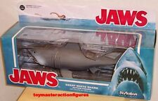"JAWS ReACTION SUPER 7 JAWS THE GREAT WHITE SHARK 10"" ACTION FIGURE In Stock"