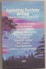 EXPLORING FANTASY WORLDS. SPRAGUE 1st. de CAMP,  MOORCOCK, LEIBER, POUL ANDERSON