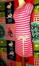 TOPSHOP ROBE DRESS TRENDY SOIREE FINE LAINE HANCHES CEINTUREE T UK10 OU 36/40