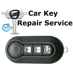 Repair Service for Vauxhall Opel Combo Van 3 Button Remote Key Fob 2012 - 2017