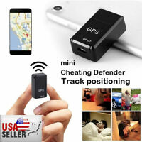 GF07 Mini Magnetic GPS Tracker Real-time Car Truck Vehicle Locator GSM GPRS