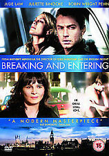 Breaking And Entering DVD New & Sealed
