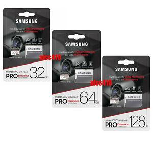 Samsung Pro Endurance 32GB 64GB 128GB Micro SD Card Surveillance DashCam E
