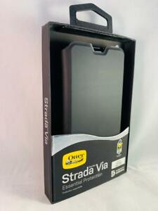 Strada Via Samsung Galaxy S10+ Booklet Folio Flip Case Cover