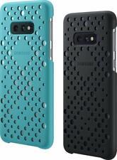 Original Samsung 2 x Pattern Cover Case Schutz Hülle Schwarz/Grün f. Galaxy S10e