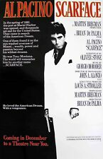 Scarface Movie Poster 12 x 18