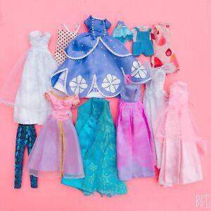 Vintage & Modern Barbie & Other Doll Princess & Wedding Dresses / Clothes Bundle