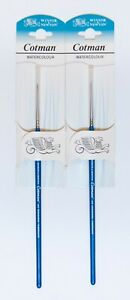 Winsor Newton Script Liner Brush Size 1 Set of Two Only $10.