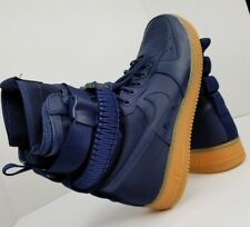 Men's Nike SF Air Force 1 Sneaker Boots 864024-400 Size 11 Midnight Blue Gum