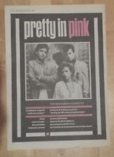 Pretty in pink  1986 press advert Full page 28 x 39 cm mini poster